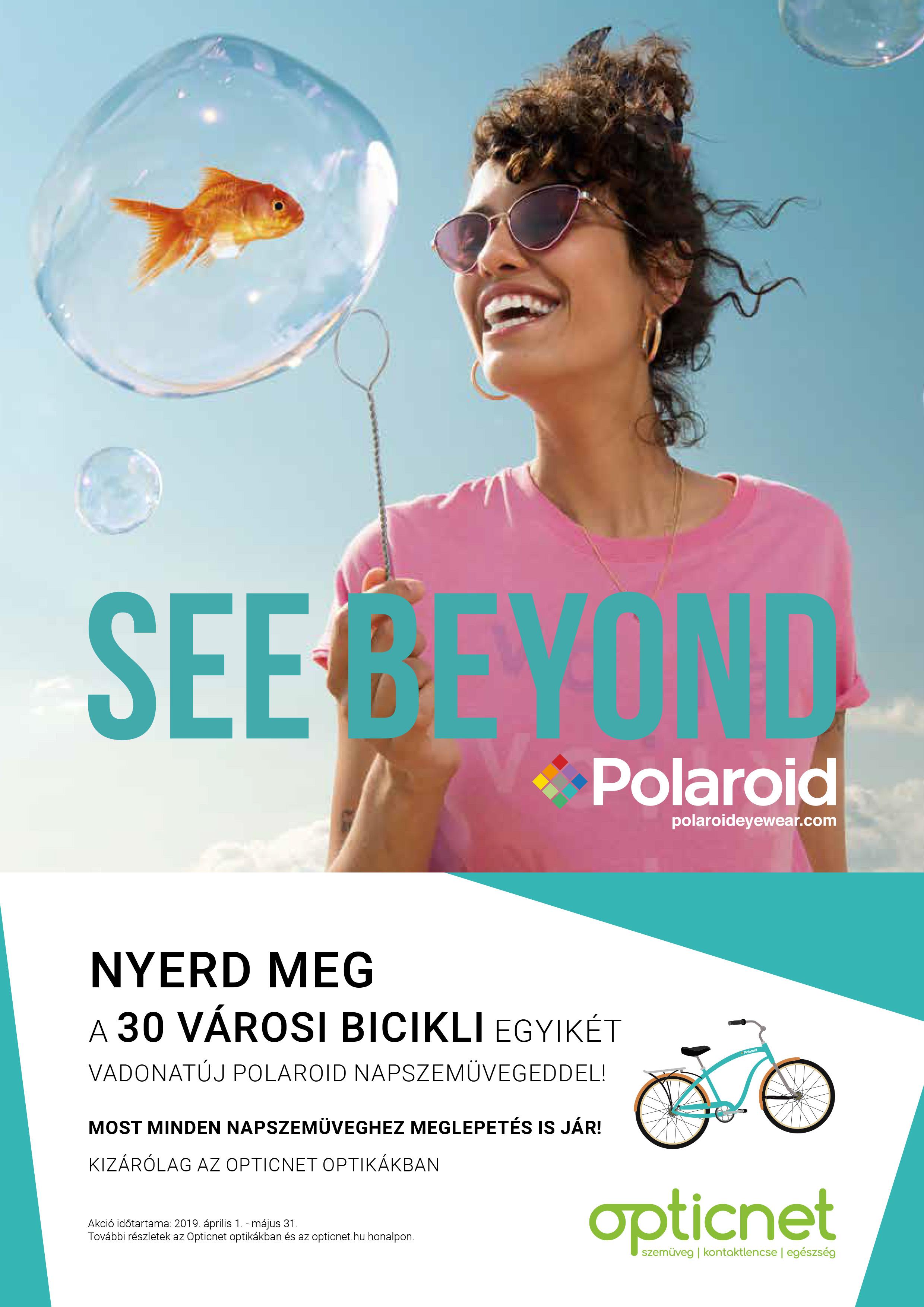 e6779703022b Vásárolj egy Polaroid napszemüveget, és tiéd lehet egy gyönyörű Cruiser  kerékpár!